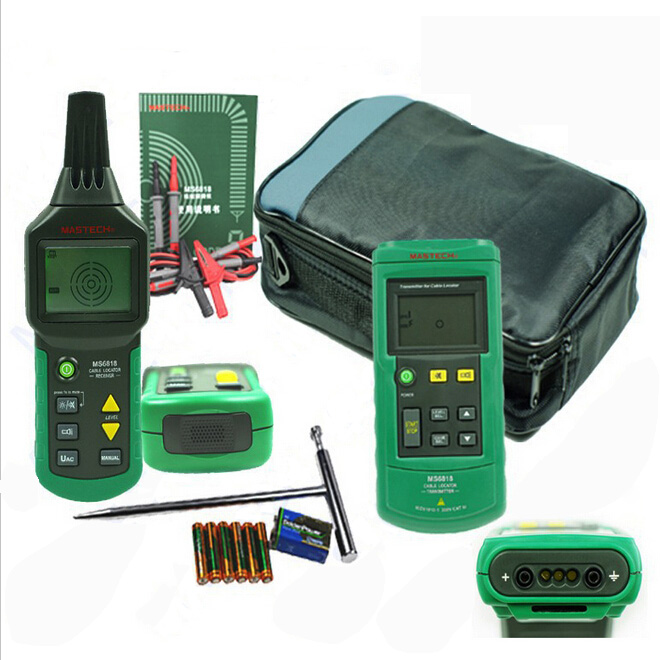 Wire Locator Detector : Mastech ms cable detector wire metal pipe