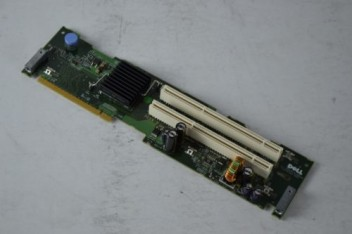 DELL PowerEdge 2950 PCI-X HBA Riser Card Dual Port 0H6188 H6188