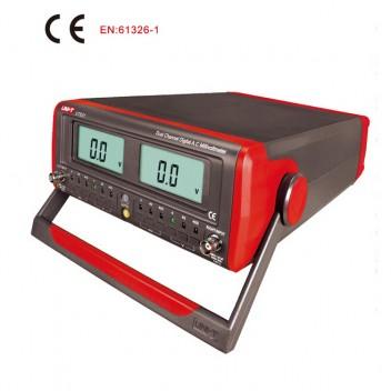 Dual channel Digital AC Millivolt Meters UNI-T UT631